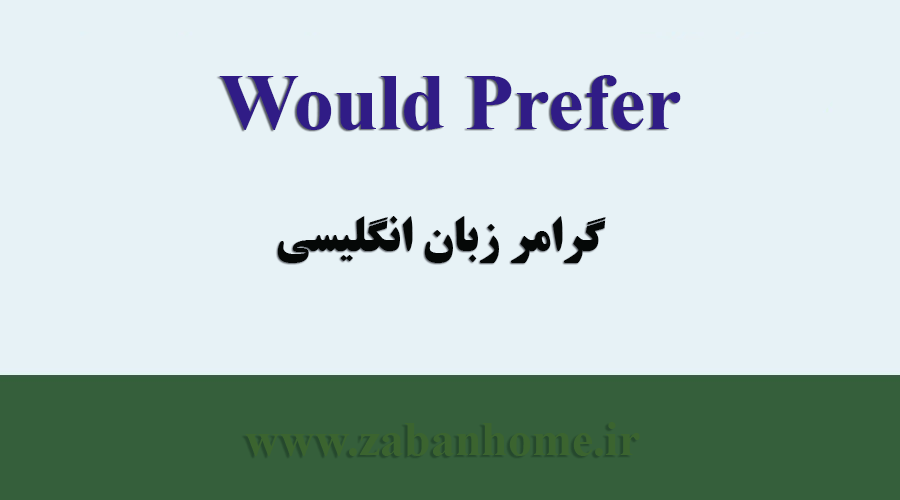 using would prefer