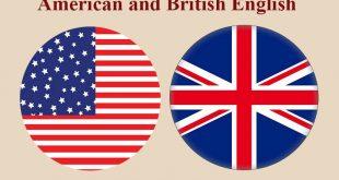 انگلیسی آمریکایی و بریتانیایی